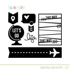 Free Wanderlust Cut Designs at @studio_calico