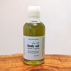 Vetiver + Vanilla Body Oil by Soap Revolt Naturals