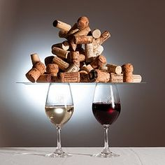 Wine Cork Art and Wine Cork Crafts Projects  If you have a lot of wine corks around, you're probably wondering what to do with them all. Why not...