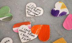watercolor hearts by most lovely things, via Flickr
