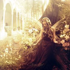 Fairy by =ForestGirl on deviantART