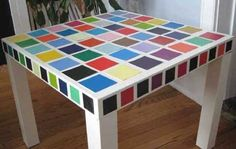 DIY Friday Working with Paint Chips