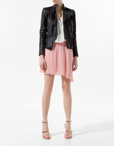 LEATHER JACKET - Blazers - Woman - ZARA