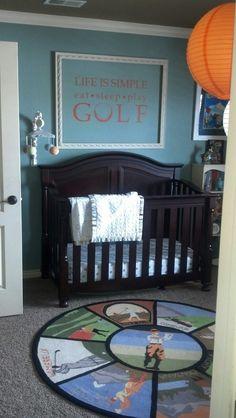 baby golf room
