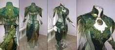 fuckyeahfantasyfashion: Dryad Archer Costume by Lillyxandra