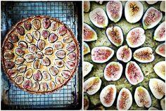 Almond Fig Tart (Grain Free) almond fig, foodi stuff, challenges, almonds, grain free, free food, gluten free, fig tart, dessert