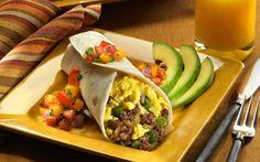 Eggland's Best Breakfast Burrito #breakfast #egglandsbest #recipe