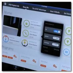 'Digital Life' system includes Xanboo software, Z-Wave devices and professional security monitoring by AT's own central station. Trials in Atlanta and Dallas begin this summer.