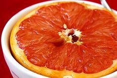 Brown sugar broiled grapefruit