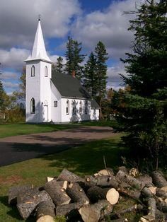 rural P.E.I. church