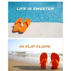 LOVE Flip Flops!