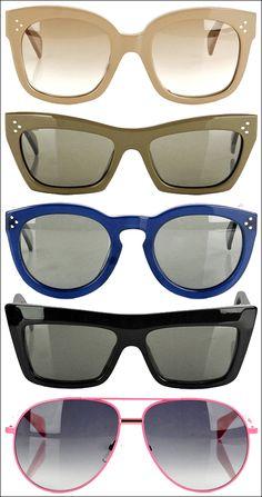 CÉLINE Sunglasses - one of each please!