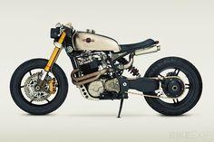 Battlestar Galactica, Katee Sackhoff, Classified Moto, motor bike, cafe racer, motorcycle, custom bike, custom motorcycle