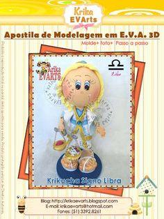 El Rincon Fofuchero: Fofuchas zodiacos Libra