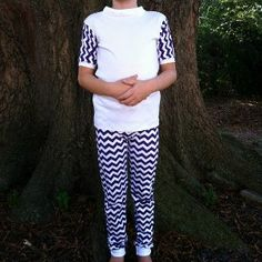Loungewear can be your best friend. Make an extra cute and super funky pajama set for your kiddo before their next slumber party or sleepover when you sew up these Comfy, Cozy, Chevron Pajama Pattern. Combine the cuddle of cotton or knit fabric with the pizazz of chevron to make this sleep set.