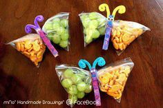 Cute Ideas for snack time!