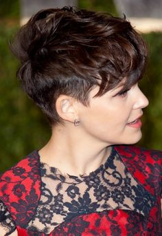 longer on top, cropped sides, Ginnifer Goodwin, short hair