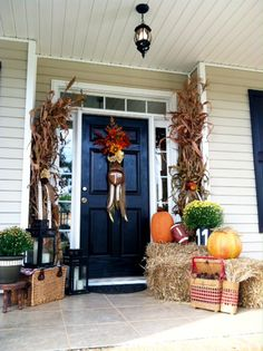 fall porches, front porches