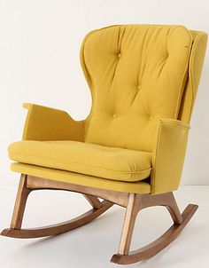 The Finn Rocker by Anthropologie. Truly a fab find! #carouseldesigns #pinparty