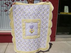 lovely baby quilt!