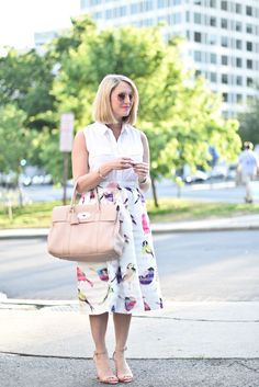 Bold Patterns Pt. 2 // 51 Cute Work Outfits to Wear This Summer