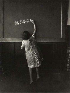 Escuela de la aldea de Hinterthurgau - Foto de  Friedrich Seidenstücker (1882 – 1966)