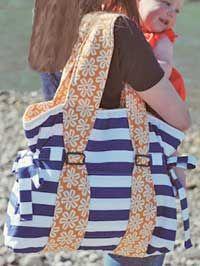 beach bag, diaper bags, bag design, shore bag, bag tutorials, paper patterns, tote bags, bag patterns, sewing tutorials