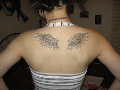 Feathery Angel Wings