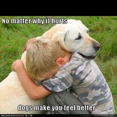 Dogs Make You Feel Better