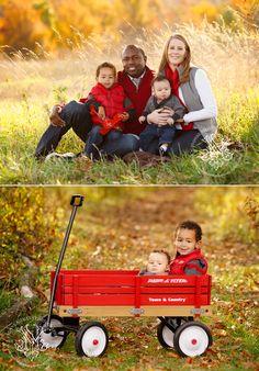 Fall family portrait idea