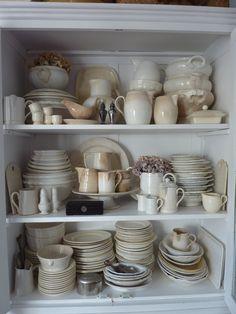My shabby chic china cupboard