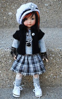 inspiration for AG doll school outfit