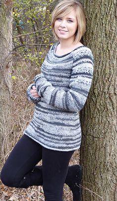 Grey sky morning sweater
