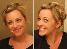 "DIY: Easy ""Updo"" for Short Hair - iVillage"