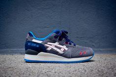 Asics Gel Lyte III - Grey / Navy | Sneaker | Kith NYC