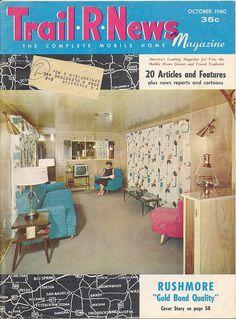 Trail R News magazine 1960 #vintage #travel #trailer #1960s #sixties