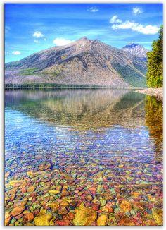 Lake McDonald in Glacier National Park, Montana
