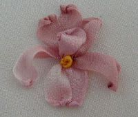 Silk Ribbon Embroidery: Silk Ribbon Embroidery Tutorial - Iris