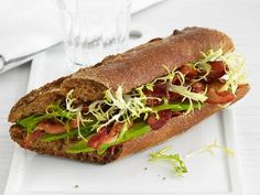 Avocado BLTs from #FNMag #Veggies #Grains #MyPlate