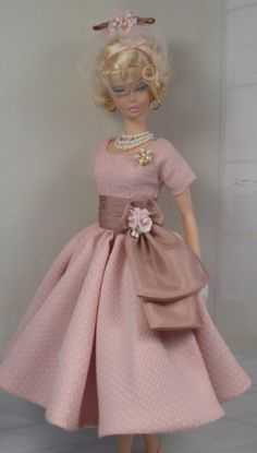 rose blush, matiss custom, silkston barbi, custom fashion, barbi dresses74