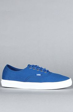 The Authentic Lite Sneaker in Blue by Vans Footwear