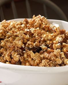 Spiced Caramel Corn - Martha Stewart Recipes