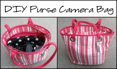 Purse Camera Bag Tutorial