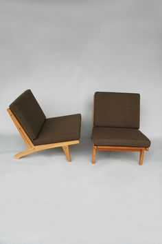 Hans Wegner lounge chairs