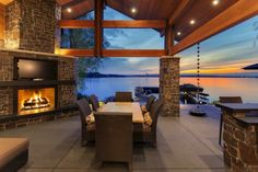 Patio with amazing view