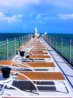 Tanning pier at the Southernmost on the Beach, Key West, Fl!