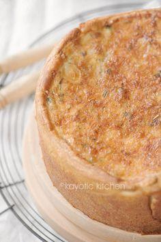 Onion, Bacon & Gruyere Quiche