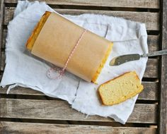 Comfy Belly: Lemon Pound Cake from my book