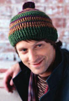 Retro Stripe Hat | crochet today; free