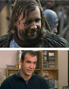 """Sandor """"The Hound"""" Clegane (Rory McCann) in real life."""